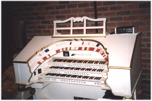Used allen theater organs