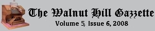 What's new at Walnut Hill? Scroll down to see the latest headlines. Click this banner to read past issues of the Walnut Hill Gazette in our Archives section.