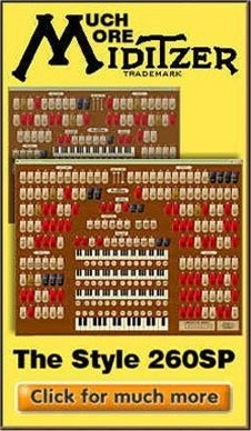 Click here to find out how you can get your copy of the new Mighty WurliTzer Style 260 Special Theatre Pipe Organ.
