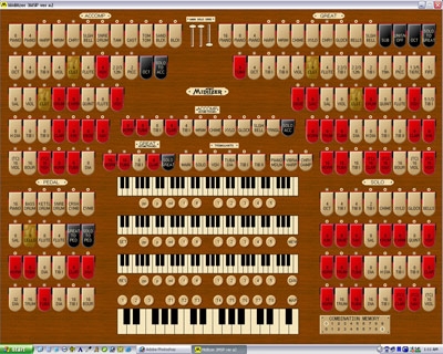 Click here to download the latest test version of the Mighty Miditzer Style 260SP Virtual Theatre Pipe Organ.
