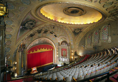 Click here to download a 4677 x 3245 JPG image showing the beautiful auditorium of the Alabama Theatre.