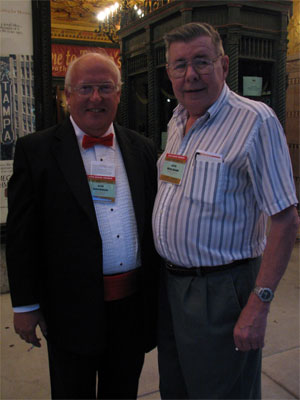 Click here to download a 1944 x 2592 JPG image showing Bob Davidson and Jack Mollman out front at the Tampa Theatre.