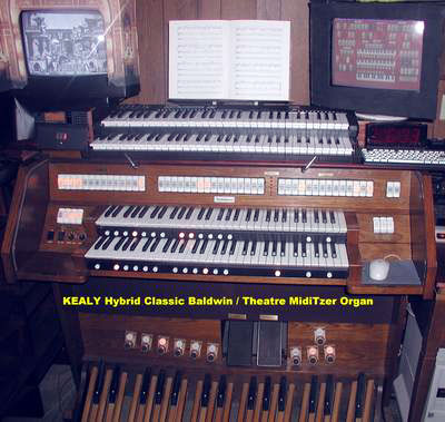 Click here to see and learn about Paul Kealy's Mighty Baldwin Church Organ and his Mighty MidiTzer.