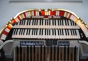 Click here to learn more about the 2/11 Mighty WurliTzer Theatre Pipe Organ installed at the Lafayette Theatre in Suffern, New York.