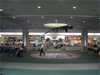 Click here to download a 2592 x 1944 JPG image shoving the lobby at Gate E, Tampa International Airport.