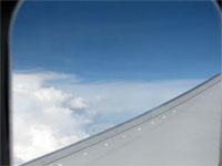 Click here to download a 2592 x 1944 JPG image shoving the aircraft at cruise altitude between Tampa and Atlanta.