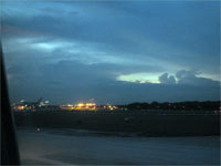 Click here to download a 2592 x 1944 JPG image shoving the aircraft rolling out of the airport.