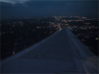 Click here to download a 2592 x 1944 JPG image shoving Atlanta far below as we climb to cruise altitude.