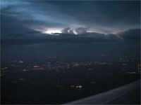 Click here to download a 2592 x 1944 JPG image shoving a huge thunderhead off the port side of the aircraft.