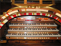 Featured Organ For The Month Of June, 2007 - Paramount, Middletown, New York 3/12 Mighty WurliTzer Theatre Pipe Organ.