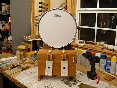 Click here to download a 2560 x 1920 JPG image showing the assembled Snare Drum Action.