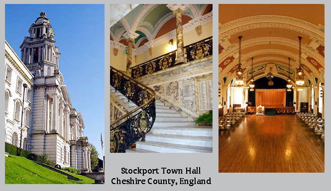 Click here to learn more about the Stockport Town Hall.