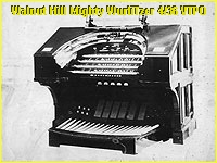 See and hear the Walnut Hill Mighty WurliTzer, a planned Virtual Hybrid 4/36 Theatre Pipe Organ.