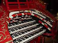 Featured Organ For The Month Of June, 2005 - The 4/28 Mighty WurliTzer installed at the Alabama Theatre in Birmingham, Alabama.
