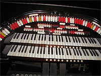 Featured Organ For The Month Of August, 2006 - The 2/10 Mighty WurliTzer of San Bernardino, California.