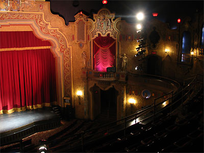 Click here to download a 2592 x 1944 JPG image showing the auditorium as seen from the balcony, looking right.
