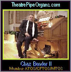 Click here to visit the official website of Chaz Bender II at TheatreOrgans.com in Newport Ritchey, Florida.