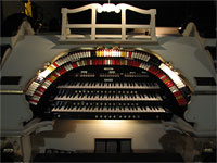 Featured Organ For The Month Of September, 2007 - Civic Theatre 3/19 Mighty WurliTzer Theatre Pipe Organ, Akron, Ohio.