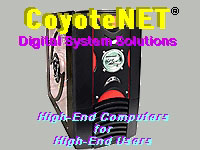 CoyoteNET Digital System Solutions - High-End Computers for High-End Users