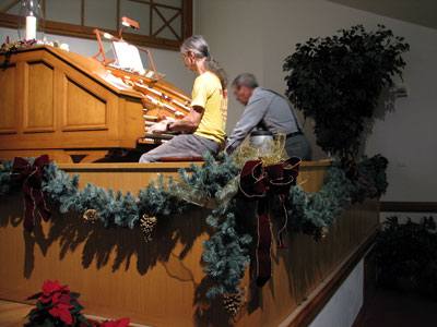 Click here to listen to new material from the Bone Doctor at the J. Tyson Forker Memorial 4/32 Mighty WurliTzer Theatre Pipe Organ installed at Grace Baptist Church in Sarasota, Florida.