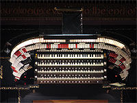 Featured Organ For The Month Of June, 2006 - The 4/100 Hybrid installed at the Kirk of Dunedin in Dunedin, Florida.