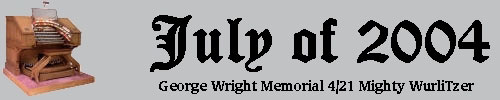 Click here to return to the Featured Organ of the Month main page. Scroll down to learn about and see the George Wright Memorial 4/21 Mighty WurliTzer Theatre Pipe Organ installed at Grant Union High School in Sacramento, California.