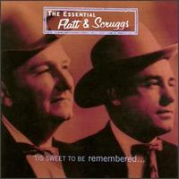 Album art from the LP, Lester Flat and Earl Scruggs - 'Tis Sweet To Be Remembered