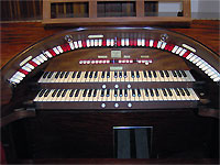 Featured Organ For The Month Of July, 2007 - 2/9 Mighty WurliTzer Theatre Pipe Organ, Dave Geiger Residence, Columbus, Ohio.