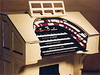 Featured Organ For The Month Of July, 2004 The George Wright Memorial 4/21 WurliTzer Theatre Pipe Organ at Grant Union High School.