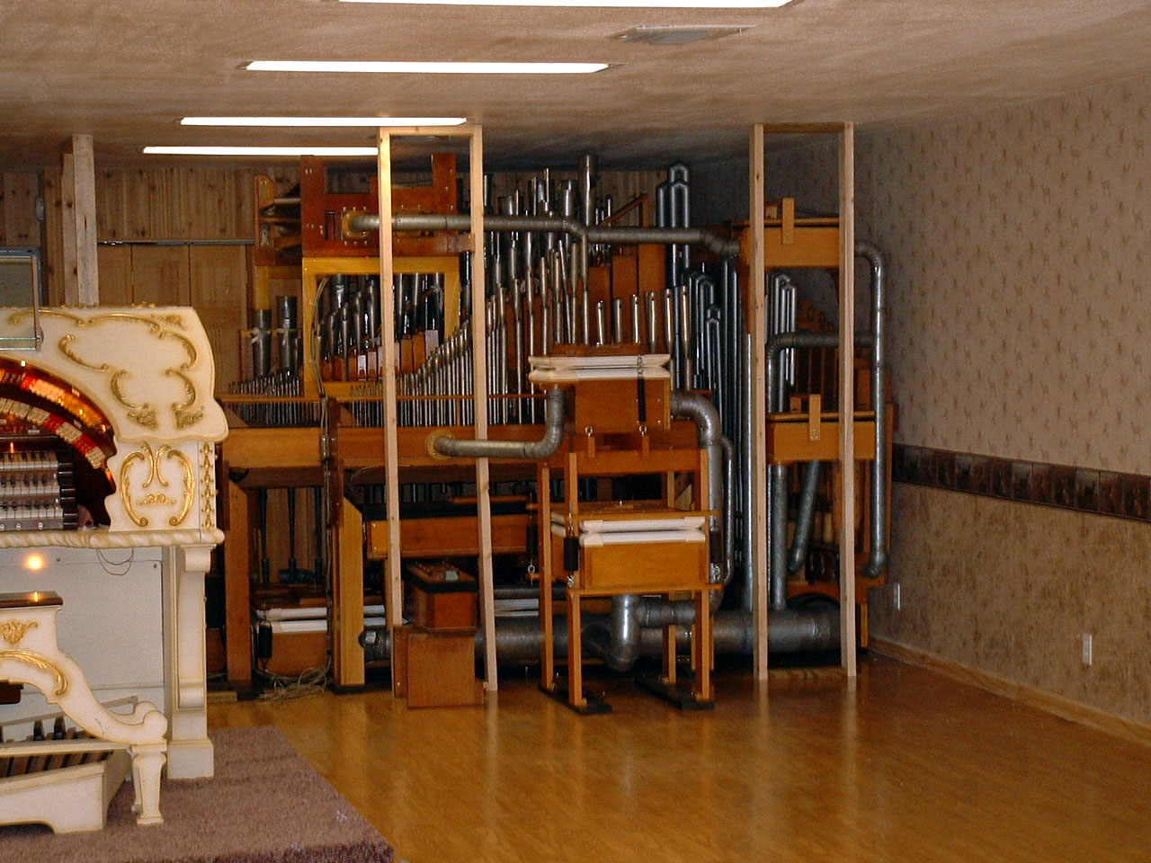 Building A Home For The 3/12 Grand Page Theatre Pipe Organ