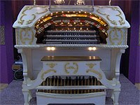 Featured Organ For The Month Of September, 2005 - The 3/12 Grande Page installed at Johnnie June Carter's House near Wimauma, Florida.