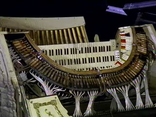 Mighty WurliTzer and Paramount Theatre destroyed by flooding in Cedar Reapids, Iowa.