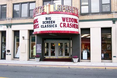 Click here to download a 2160 x 1440 JPG image showing the entrance to the legendary Lafayette Theatre.
