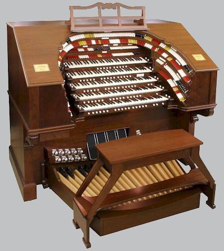 Click here to visit Allen's 5/49 TO-5Q Digital Theatre Organ page.