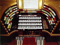 Featured Organ For The Month Of February, 2005 - The Mighty 4/42 Mller Theatre Pipe Organ installed at The Fox Theatre in Atlanta, Georgia.