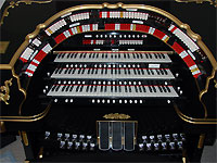 Featured Organ For The Month Of February, 2007 - Mike Phillips' Alen GW319EX Digital Theatre Organ.