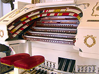 Featured Organ For The Month Of January, 2006 - 3/24 Mighty Kimball installed at Bob Markworth's residence in Omaha, Nebraska.