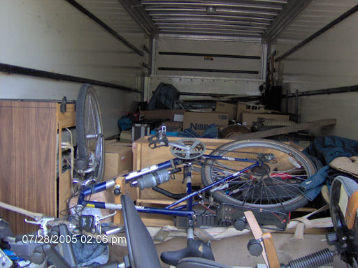 Click here to download a 2048 x 1536 JPG image of the cargo sitting in the truck prior to closing the door.
