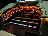 Featured Organ For The Month Of December, 2005 - The 3/18 Mighty WurliTzer installed at Lake Brantley High School in Orlando, Florida.
