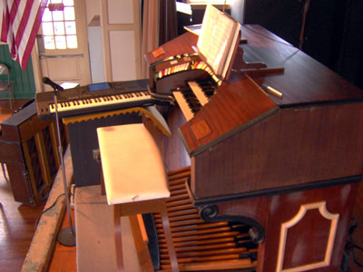 Click here to see the Pinellas Park 2/9 Mighty WurliTzer Theatre Pipe Organ installed at the Pinellas Park Auditorium in Pinellas Park, Florida.