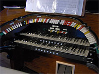 Featured Organ For The Month Of October, 2005 - The 2/9 Mighty WurliTzer installed at Pinellas Park Auditorium in Pinellas Park, Florida.