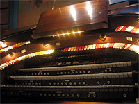 Featured Organ For The Month Of November, 2005 - The 3/12 Robert Morton installed at the Polk Theatre in Lakeland, Florida.
