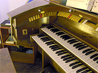 Featured Organ For The Month Of May, 2006 - The 2/5 Mighty Wicks installed at Saint Joseph's Catholic Church in Ponchetoula, Louisiana.