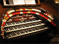 Featured Organ For The Month Of December, 2007 - 3/45 Mighty Walker Digital Theatre Organ, Doug Powers Residence, Beachwood, Ohio.