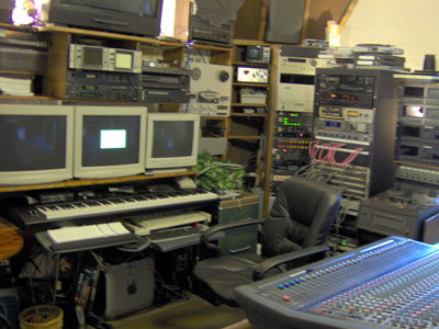Click here to download a 2046 x 1536 JPG image showing the main control room at Progressive Media & Music in Tampa, Florida.