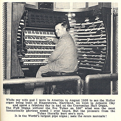 Click here to download a 515 x 516 JPG image showing Reginald Foorte at the console.