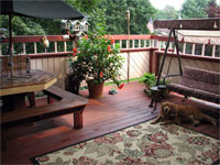 Click here to see the outdoor family room.