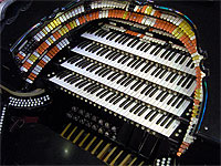 Featured Organ For The Month Of August, 2005 - The 4/42 Mighty WurliTzer installed at Roaring 20's Pizza and Pipes in Ellenton, Florida.