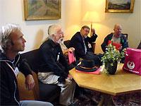 Click here to download a 640 x 480 JPG image showing members of the club duing their first meeting.