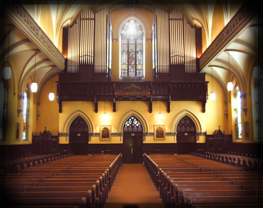 Click here to visit the website for the 1928 E.M. Skinner Grand Organ of Our Lady of Mount Carmel Roman Catholic Church.